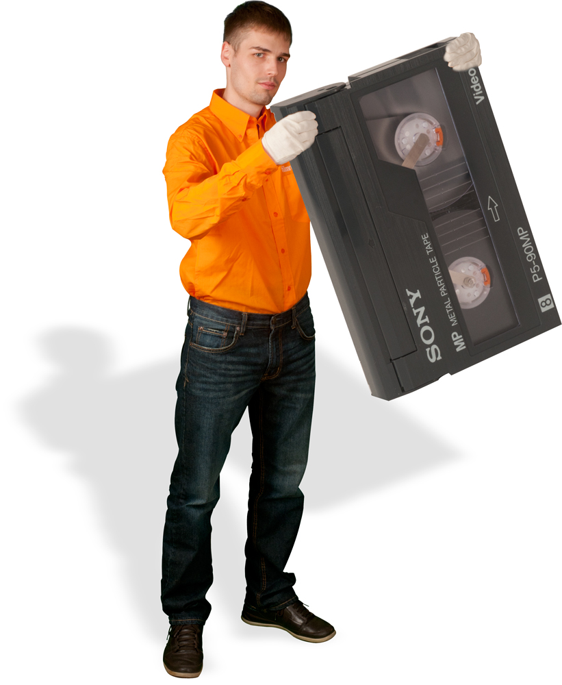 Video2000 digitalisieren durch die Film-Retter